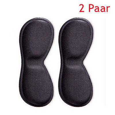 4 Stück Leder Fersenschutz Fersen Polster Schuhpolster Fersenkissen Anti Slip