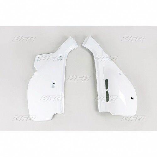 Plastiche laterali portanumero Honda Xr 600 1988 - 2000 coppia Ufo Plast bianco