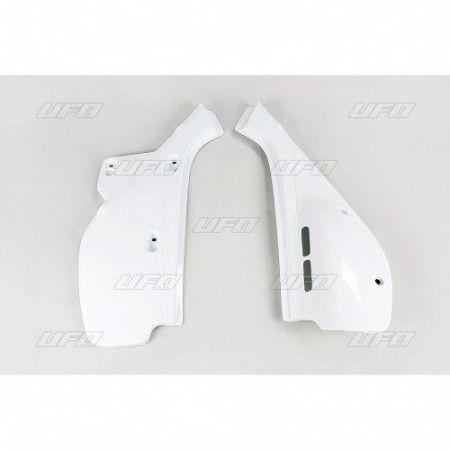 Plastiche laterali portanumero Honda Xr 600 1988 – 2000 coppia Ufo Plast bianco