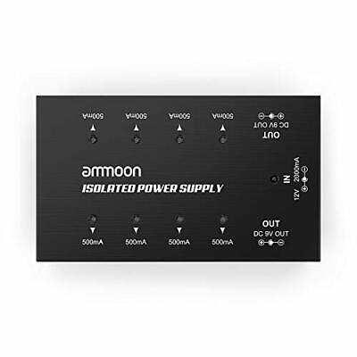 ammoon Guitar Effect Power Supply Compact Size Guitar Effect Power Supply 8