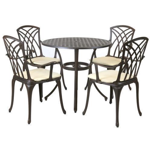 metal patio garden furniture sets for