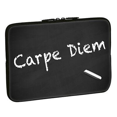 Design Notebook Schutzhülle 13,3 Zoll Laptop Hülle Tasche - Carpe Diem Spruch