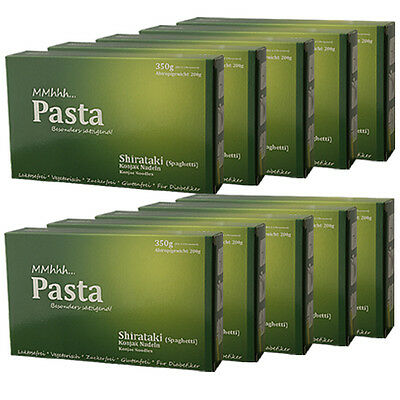 10x Shirataki Nudeln Spaghetti MMhhh Pasta aus Konjak Light Slim Low Carb Diät