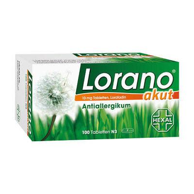 LORANO akut Tabletten 100St PZN 07224435