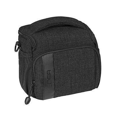 SLR Kameratasche Schultertasche Fototasche Umhängetasche Regenschutz, L schwarz