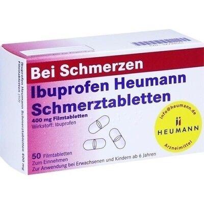 IBUPROFEN Heumann Schmerztabletten 400 mg 07728561