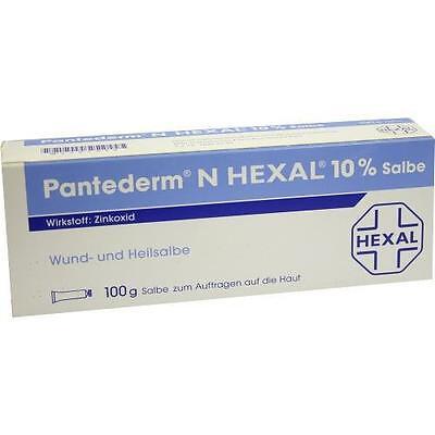 PANTEDERM N HEXAL Wund- und Heilsalbe 100 g PZN 2587038