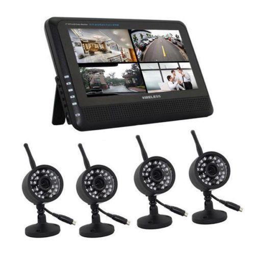 6 Wireless Cameras Security Camera System Surveillance