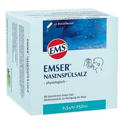 EMSER Nasenspuelsalz physiologisch Btl. 50St PZN 02579665