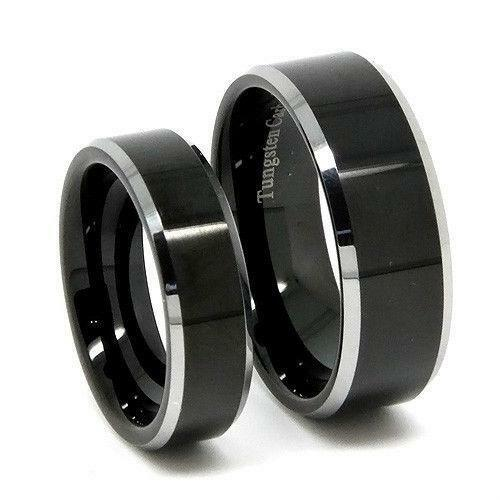 His And Hers Tungsten Wedding Bands EBay