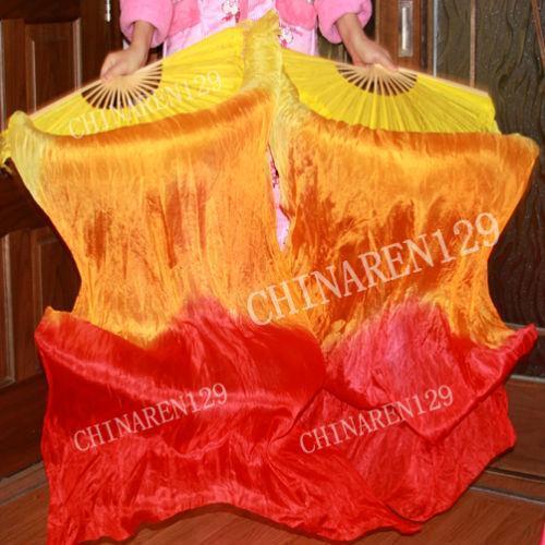 Belly Dance Silk Fan Veil | eBay