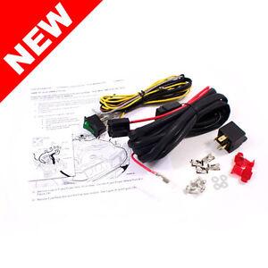 92 99 BMW E36 3 Series Fog Light Wiring Harness Kit w Switch Relay | eBay
