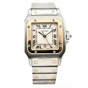 Mens Cartier Watch   eBay Cartier Mens Gold Watch