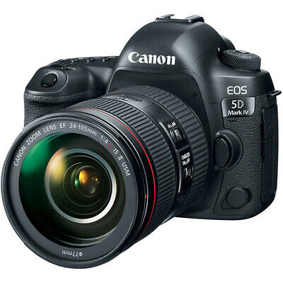 Canon EOS 5D Mark IV Full Frame Digital SLR Camera with EF 24-105mm II USM Lens