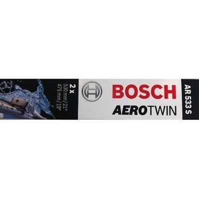 BOSCH Wischblatt Aerotwin Retrofit AR533S Scheibenwischer 530/475 mm 3397118902
