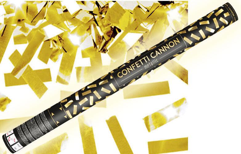 Konfetti Shooter Party Popper gold Folien Konfetti Kanone XXL 80 cm ! Hochzeit
