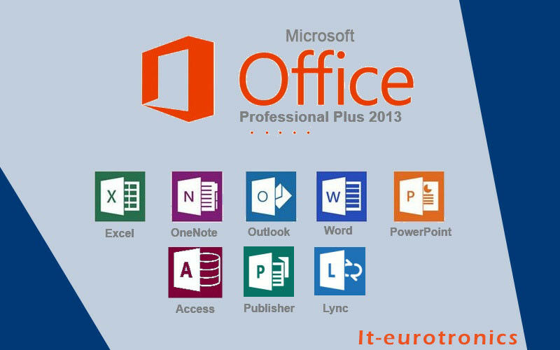 Microsoft Office 2013 Professional Plus  32/64 MS Office Pro Plus, MULTILANGUAGE