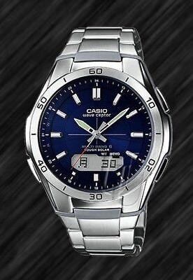 Casio Wave Ceptor-Tough SOLAR FUNKUHR,WVA-M640D-2AER,FUNK,Analog, Digital, 10bar