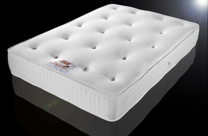 Exclusive Bed World 12 Tufted Orthopaedic Mattress Double 4ft6 5ft King Size
