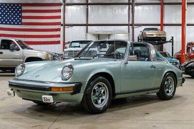 1974 Porsche 911 S Targa 1974 Porsche 911 S Targa 75245 Miles Ice Blue Coupe 2.7L Flat 6 5-Speed Manual