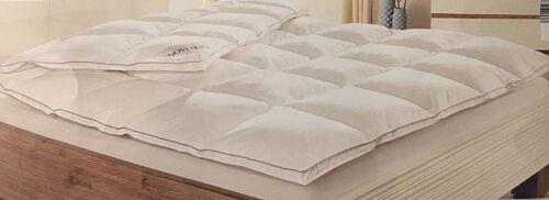 Spezial Luxus Daunendecke Daunen und Federn 3 cm Außensteg 135 x 200 cm Nomite