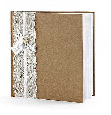 Gästebuch Hochzeit Hochzeitsgästebuch mit Herz Hochzeitsalbum Fotoalbum