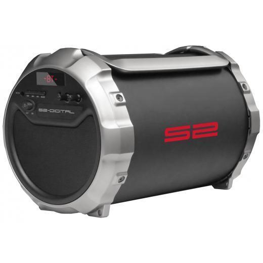 S2-DIGITAL S-Tube XL Outdoor Bluetooth Lautsprecher mit FM Radio