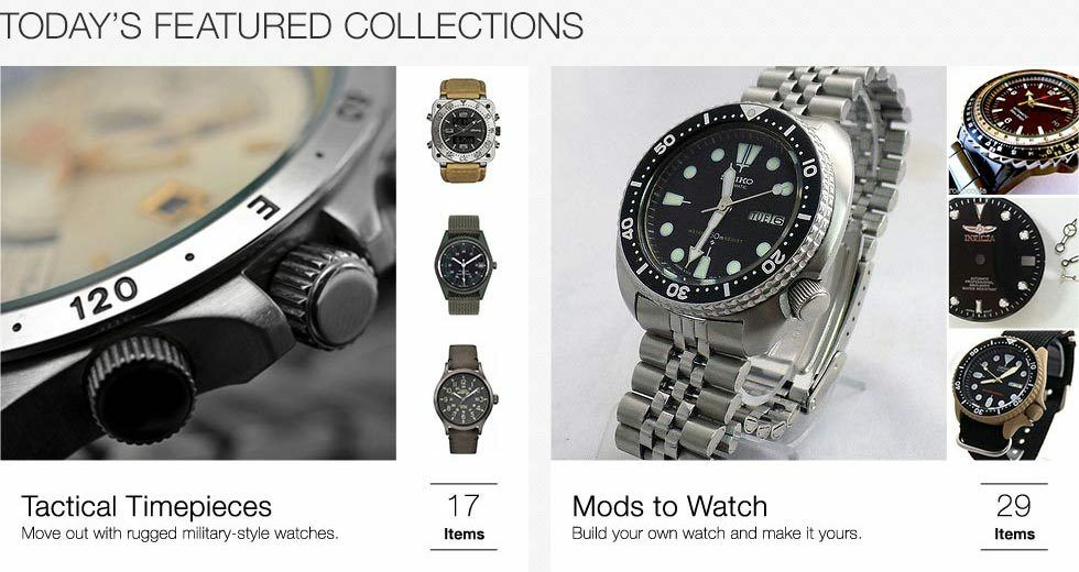 Tactical Timepieces | Mods to Watch