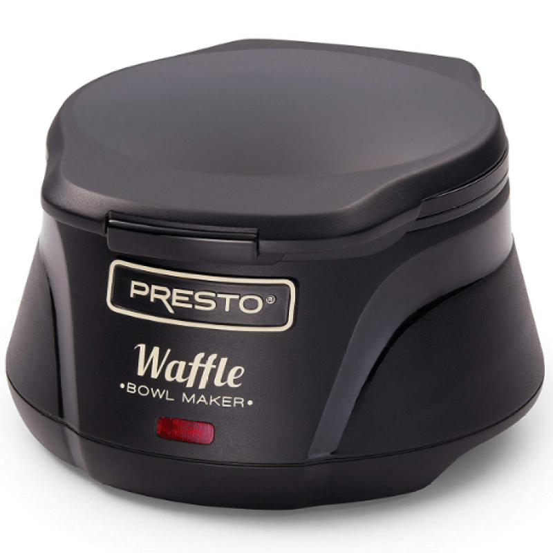 Presto 03500 Belgian Bowl Waffle Maker, Black 3