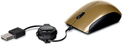 Speedlink Maus USB MINNIT 3-Tasten-Maus Mouse Mini einziehbares kabel E12-953930