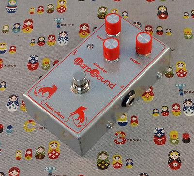 Fredric Effects Warp Sound Vorg clone boutique effects pedal EQ rare