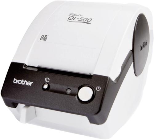 Brother QL-500BW Etiketten-Drucker Thermodirekt 300 x 300 dpi Etikettenbreite (m