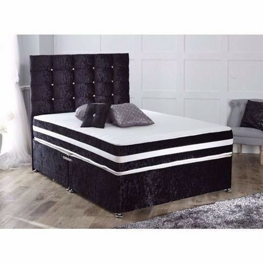 Price Best Quality New Double Or King Size Crush Velvet
