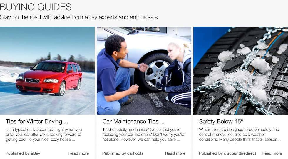 Buying Guides | Stay on the road with advice from eBay experts and enthusiasts
