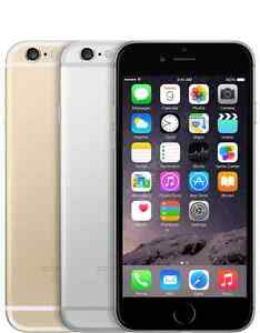 Apple iPhone 6 - 128GB - (Factory Unlocked) Smartphone - Gold Silver Gray