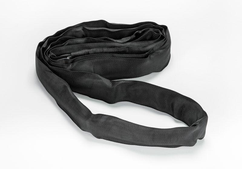 1x Rundschlinge Hebegurt schwarz für Bühnentechnik 2000 kg 2, 3, 4, 6 oder 8 m
