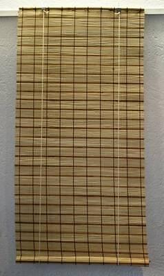 Bambusrollo Bambus Rollo / Sichtschutz Natur/ Braun Jalousie Jalouset