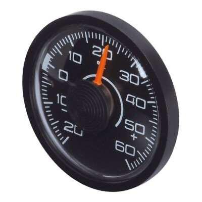 HR 10010001 KFZ Auto Innen Thermometer - selbstklebend - Ø 46 x 12 mm - schwarz