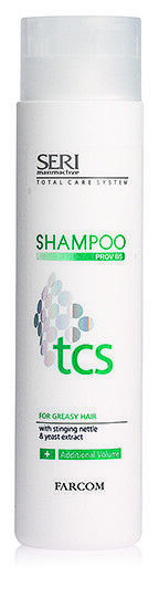professionelles Shampoo gegen fettige Haare, Antifettshampoo 300ml