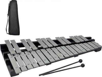 Steinbach Glockenspiel 30 silberne Klangplatten chromatisch