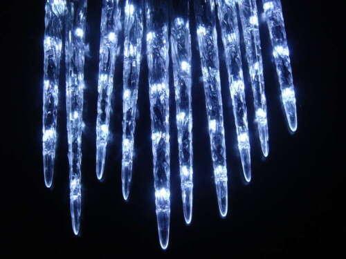 40 LED Eiszapfen-Lichterkette Innen-und Außenbereich Effektlichter 8 Funktionen