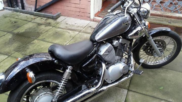 Yamaha Virago 125 Chopper Bobber Project Very Clean Condition In