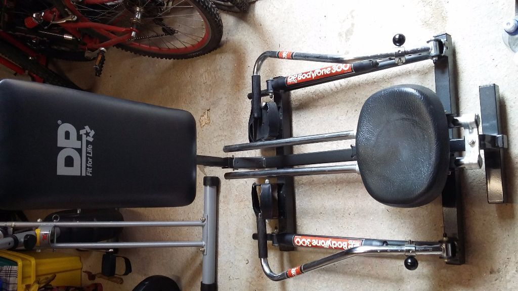 Multi Gym Rowing Machine Bench Press Dp Bodytone 300