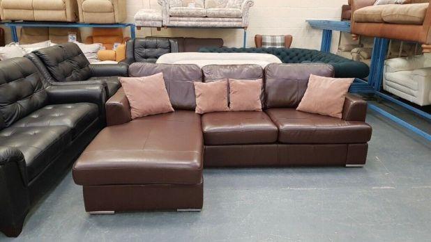 Dfs Ex Display Leather Sofas Brokeasshome Com