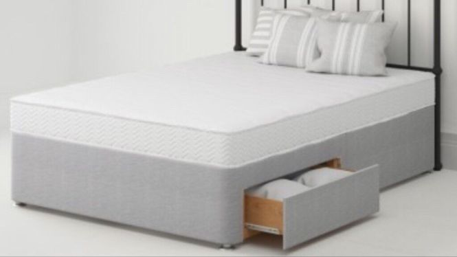Brand New King Size Bensons For Beds Belmont Mattress Rrp 199