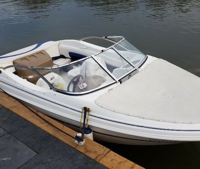 Glastron 175 Sx Speed Boat 2004 And New Trailer