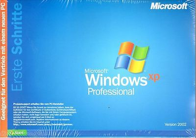 Windows XP Professional Betriebssystem CD, SP2, Lizenz Key, Neu, OVP