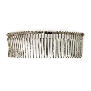 12 metal hair bs 32 wire teeth silver bridal prom supply accessory 5 034 130mm ebay