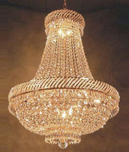 French Empire Crystal Chandelier Chandeliers Lighting H26
