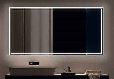 LED BAD SPIEGEL Badezimmerspiegel mit Beleuchtung Badspiegel Wandspiegel S20